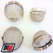 Weber 45 DCOE 44 48 IDF Carburettor Mesh Domed Slip In Trumpet Air Filters x 4